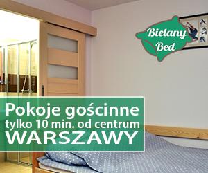 Pokoje gościnne w Warszawie - bielanybed.pl